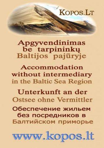 Atostogos, nuoma, poilsis – Neringa, Palanga, Kaunas, Klaipėda