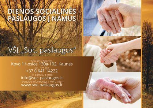 Neįgaliųjų ir vienišų senyvo amžiaus žmonių lankymas ir priežiūra jų namuose Lietuvoje