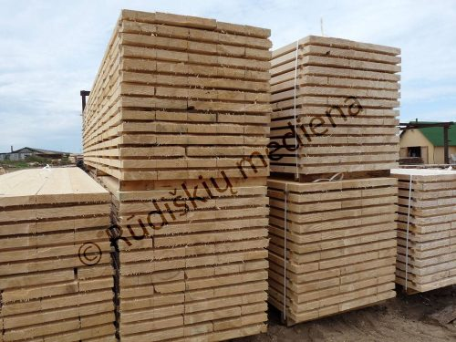 Statybinė konstrukcinė mediena iki 9,0m ilgio