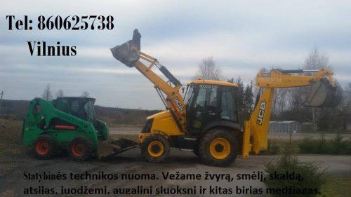 juodzemis, augalinis sluoksnis, zvyras, smelis 860625738 Vilnius Krautuvo nuoma