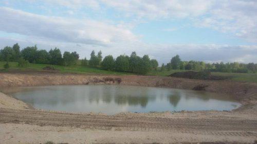 Viksrinio ekskavatoriaus nuoma. Tvenkiniu kasimas, kasame tvenkinius 860625738 Vilnius