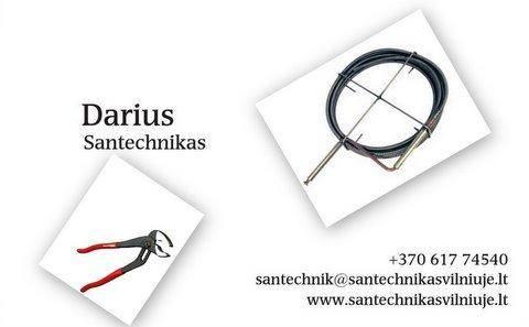 Santechnikos darbai Vilniuje