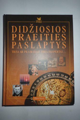 Knyga Didžiosios praeities paslaptys