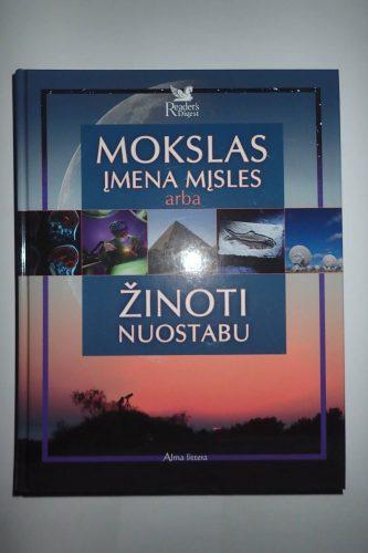 Knyga Mokslas įmena mįsles arba žinoti nuostabu