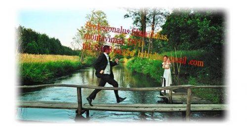 Vestuvių FILMAVIMAS, HD montavimas, tel. 8 618 01220