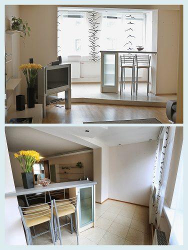 Trumpalaikė dviejų kambarių 64 kvdr. buto nuoma Klaipėdos miesto centre