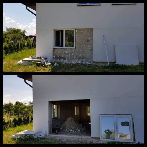 Sienų griovimas, angų išpjovimas Vilniuje, Panevėžyje, Utenoje ir visoje Lietuvoje