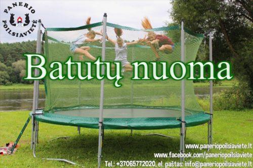 Batutų nuoma Kaune