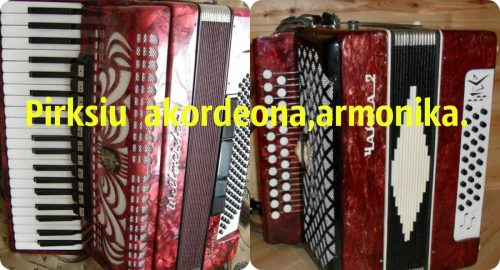 Pirksiu   tvarkinga akordeona,armonika
