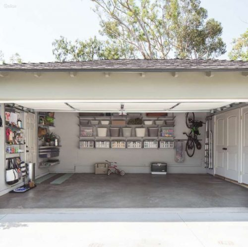 ELFA lentynu sistema garažui, kabyklos