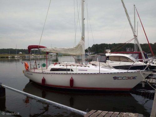 Jachtos nuoma Kauno mariose sezono naujiena C&c30e