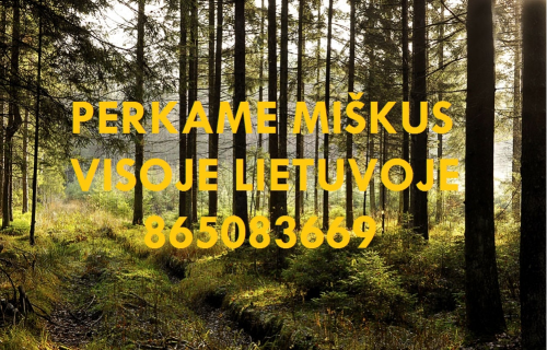 Perkame miškus