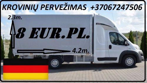 Galim paimti krovinius / siuntas iš Vokietijos į LIETUVA ( Leipcigas / Berlynas / Drezdenas / Frankfurtas / Niurnbergas