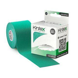 Kineziologinis teipas jautriai odai Kintex Sensitive 5cm x 5m. Spalva : Žalia