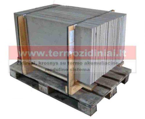 Akumuliacinės plokštės 1200x500x25mm židiniams, krosnyms