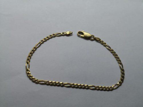 Parduodu auksinę apyrankę, Ilgis 18cm, svoris 9,8g, praba 750 Kaina 402€