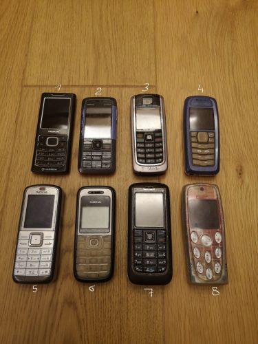 Parduodami Nokia telefonai