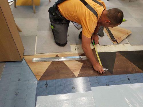 Siūlome darbą Kiliminių ir PVC grindų dangų klojėjams