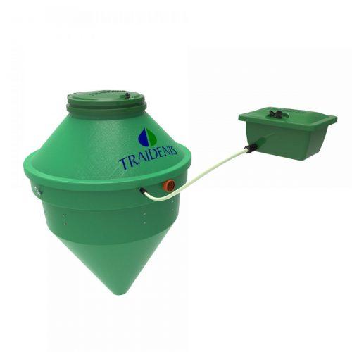 Nuotekų valymo įrenginiai ir vandens gręžiniai, granuliniai BIODOM katilai