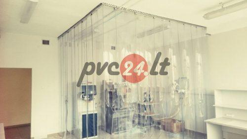 PVC vartų užuolaida