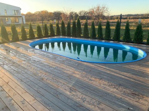 Karkasiniai baseinai: įrengimas, atnaujinimas, priežiūra
