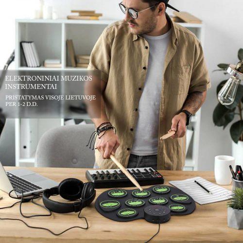 Silikoniniai nešiojami elektroniniai instrumentai