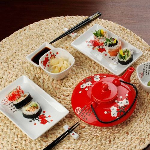 Sushi indai ir įrankiai